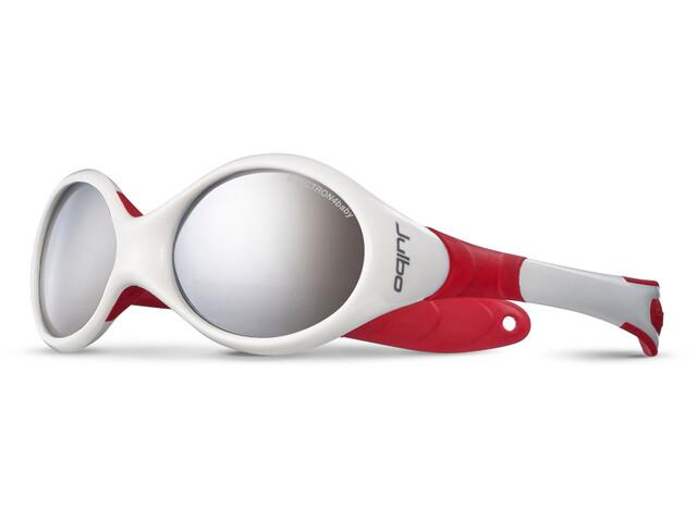 Julbo Looping II Spectron 4 Bril Kinderen 12-24M rood/wit